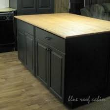 island for the kitchen diy kitchen island from stock cabinets diy home