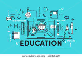 Video Tutorials Websites Flat Vector Concept Educational Elements Websites Stock Vector