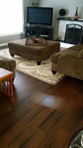 Bamboo Floor L Home Decorators Collection Scraped Strand Woven Brown 3 8 In