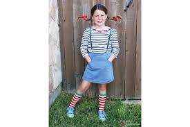 pippi longstocking costume cheap diy costumes for kids reader s digest
