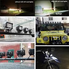 Led Light Bar For Dirt Bike by Amazon Com Safego 4