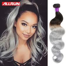 can ypu safely bodywave grey hair ombre brazilian body wave grey hair weave 5 bundles brazilian