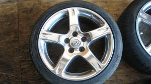 lexus is300 jdm toyota lexus is300 altezza oem wheels and tires 17x7jj 5 114 3
