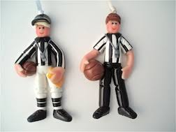 personalized referee ornament ornament helzer s creations