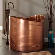 Freestanding Soaking Tubs Mini Bathtub And Shower Combos For Small Bathrooms