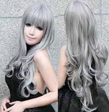 japanesse women with grey hair long silver hair japanese google search