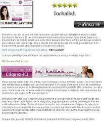 inchallah un mariage si dieu le veut inchallah avis du site de rencontre inchallah