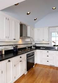 black and white appliance reno black appliances and white or gray cabinets how to make it work