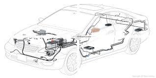 automotive illustration cutaway of a 2012 generic car