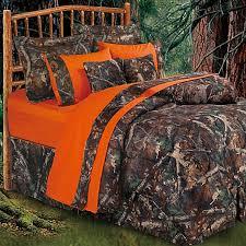 Orange Camo Bed Set Hiend Accents Oak Camo Comforter Set Bed Bath Beyond