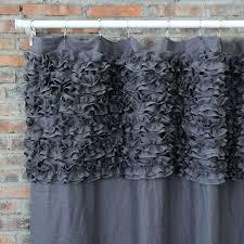 Shower Curtain Liner Uk - black fabric shower curtain uk echelon home washed belgian linen