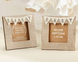 photo frame party favors country baby shower theme favors rustic baby banner picture frames