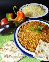 recette cuisine iranienne mirza ghassemi plat iranien aux aubergines cuisine à 4 mains