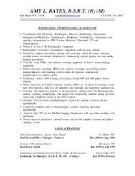 Brand Ambassador Job Description Resume by Radiologic Technologists Guide To Resume Writing X Is For X Ray