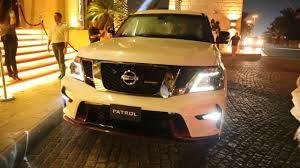 nissan patrol nismo 2016 nissan debuts nismo tuned patrol suv in dubai pakwheels blog