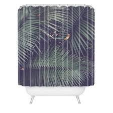 Rainforest Shower Curtain - catherine mcdonald rainforest floor tapestry deny designs
