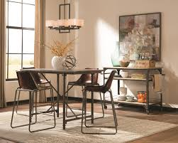 Tall Dining Room Sets Donny Osmond Kirkwood 5 Pc Counter Height Dining Room Set