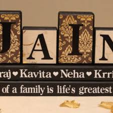 personalized names personalized family name 4 letters on from timeless notions