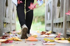 how a regular walking routine keeps the daily pressures at bay