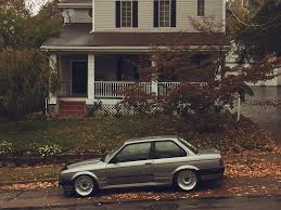 bmw e30 stanced hells chariot bmw e30 m50 slammed stanced static p u2026 flickr