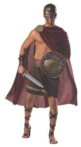 halloween costume with cape mens spartan 300 roman greek gladiator warrior halloween costume