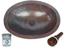 Copper Bathroom Vanity by Copper Vanity Sink Ebay