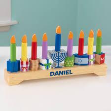 children s menorah personalized children s menorah set