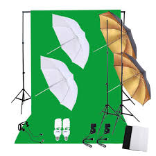 Photography Lighting Kit Online Cheap Light Stands Nonwoven Fabric Backdrop Soft Reflector