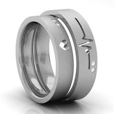 wedding bands for couples wedding bands heartbeat kreeli jewellery