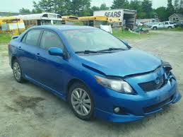 2010 toyota corolla s blue 2t1bu4ee2ac238917 2010 blue toyota corolla s on sale in me
