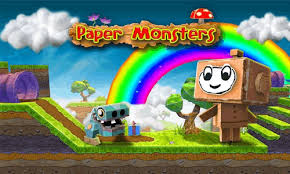 Andriod Games Room - paper monsters free download for android android games room