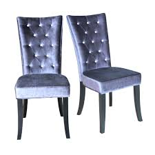 Purple Chair Uk Dining Chairs Radiance Purple Velvet Dining Chair Purple Crushed
