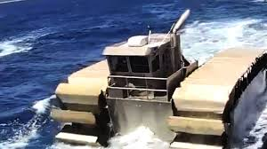 amphibious tank the world weirdest and the biggest amphibious tank youtube