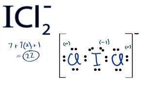 icl2 lewis structure how to draw the lewis structure for icl2