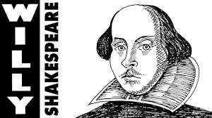 how to draw william shakespeare youtube