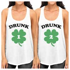 drunk1 2 bff matching tank tops pullover gift
