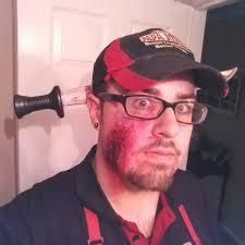 Halloween Makeup Beard by My Halloween Makeup For Work Album On Imgur