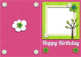 card invitation design ideas happy birthday card printable