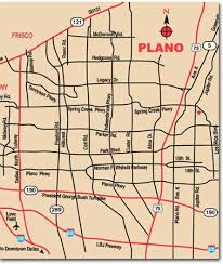 map plano plano city map plano mappery