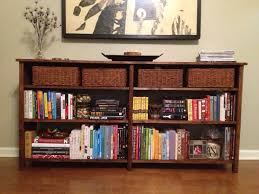 Do It Yourself Home Projects by Ana White Long Bookshelf Diy Projects