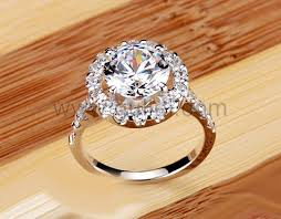 custom wedding bands custom engraved 3 carat diamond wedding ring for women