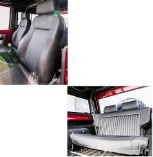 Classic Ford Truck Seat Covers - 66 77 ford bronco interior u0026 seats toms bronco parts