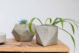diy geometrical planters look what i made look what i made u2026