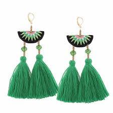 dangle earing aliexpress buy t show bohemia tassels dangle earrings women