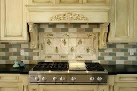 tile stove backsplash interior contemporary stove kitchen designs