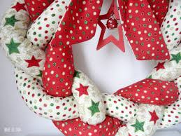 make a beautiful braided christmas wreath from you favorite