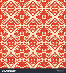 color patterns traditional classic color pattern tile rug stock vector 287495759