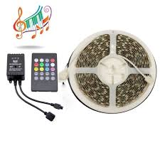 Led Strip Lights Remote Control by Supernight 5m 5050 Music Controlled Rgb Led Strip Light Kit