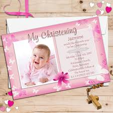 Online Birthday Invitation Card Maker Free Beautiful Personalised Christening Invitation Cards 19 About