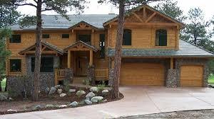 log home design plan and kits for cherokee
